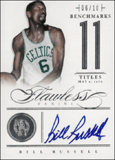 BILL RUSSELL / Benchmarks - No. 4  (#d 6/10)