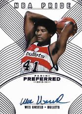 WES UNSELD / NBA Pride - No. 498  (#d 7/10)