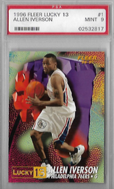 ALLEN IVERSON / Lucky 13 - No. 1 of 13