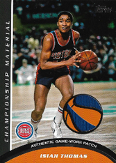 ISIAH THOMAS / Championship Material - No. CM-IT  (#d 8/50)