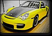 Porsche 911 turbo amarillo