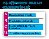 La combinaison gagnante : le gel à boire Aloe Vera et Pro 12 les probiotiques de LR