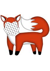 Fuchs Kissen, Fuchskissen, Namenskissen, Kinderkissen, Babykissen, Fotokissen, Tierkissen, Kuschelkissen