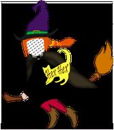 Hexe, Hexenkissen, Hexendekoration, Hexenfest,Namenskissen, Kinderkissen, Babykissen, Fotokissen, Tierkissen, Kuschelkissen