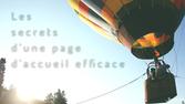 Les secrets d'une page d'accueil efficace