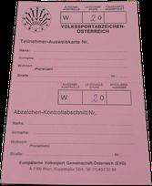 Volkssportabzeichen Ö - 20