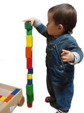 安心安全無塗装積み木を出産祝誕生日プレゼントの贈り物に おもちゃのふるさと郡上八幡
