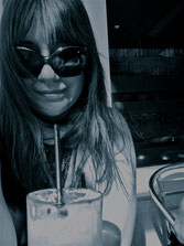 Photograph of Amanda, sunglasses