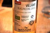 wassmann olaszrizling palack