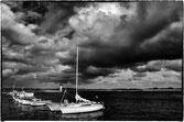 alignemant de bateau au port de Mogueriec