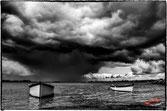 2 bateaux tranquille en attendant la pluie