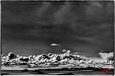 Masse nuageuse sur l ile de Batz
