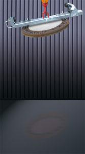 Pinza mecánica tapaderas alcantarilla