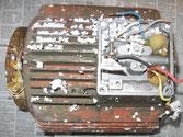 Elektromotor von Mörtelpumpe