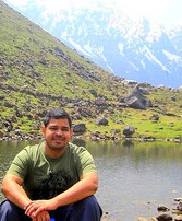 Alok at high altitude...