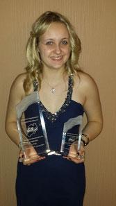 Platz 3 in 2012 und 1. Platz in 2013 bei der Sportgala  des GSNRW