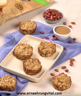 Erdnuss-Protein Haferkekse
