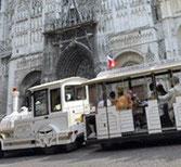 """""""Train"""" touristique de Rouen"""