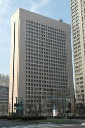 田中のオフィスがある日比谷セントラルビル。