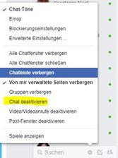 facebook zeigt mich online obwohl offline bin