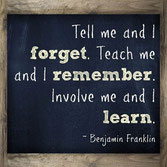 Learn Better by being Involved