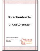 Heft 2: Sprachentwicklungsstörungen