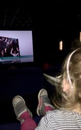 Mit 3 Jahren beim Disney Junior Mitmach-Kino
