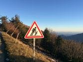 Mont-Aigoual cet hiver, vue des 3 chaines de montagne et la Méditerranée