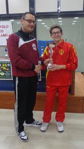 Alessandro Natoli vincitore categoria Under 19