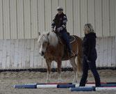 Lehrgang mit Christine Engel, Trainer A