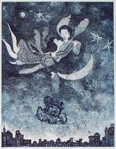 Angiola Bernardelli, Madonna, incisione, opera grafica