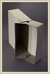 Archivbox aus Vollpappe geheftet