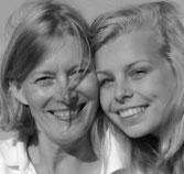 Das Autorenduo Mutter und Tochter