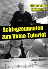 Schlagzeugnoten zum Tutorial Happy Drummer Boy Inspiration