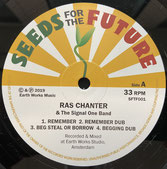 RAS CHANTER & Signal One  Roots & Dub Showcase  Label: SFTF (LP)