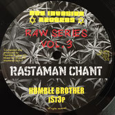 "HUMBLE BROTHER & iSt3p - Rastaman Chant (Dub Invasion 7"")"