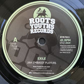 "JAH EMBASSY PLAYERS  Exile (7"")"