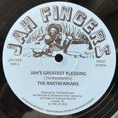 "THE RASTAFARIANS   Jah's Greatest Blessing (Jah Fingers 12"")"
