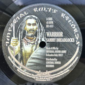 "SAMMY DREADLOCKS  Warrior  Label: Imperial Roots (7"")"