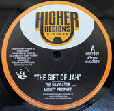 "THE NAVIGATOR meets   MIGHTY PROPHET  The Gift Of Jah / Dub  Label: Higher Regions (7"")"