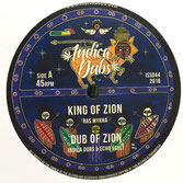 "RAS MYKHA  King of Zion (Indica Dubs 10"")"
