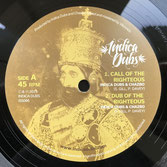 """INDICA DUBS & CHAZBO  Call Of The Righteous / Dub Mixes  Label: Indica Dubs (10"""")"""