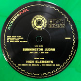 "BUNNINGTON JUDAH & HIGH ELEMENTS  Jah Live / As Above So Bellow (Dubshop.nl 12"")"