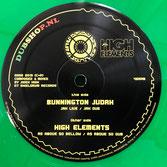 "BUNNINGTON JUDAH & HIGH ELEMENTS  Jah Live / As Above So Bellow (Dubshop.nl 12"")"