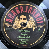 """DANNY RED  Heavy Manners / Smoke My Chalwa  Label: Ababajahnoi (10"""")"""