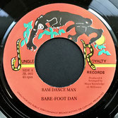 "BARE-FOOT DAN  Ram Dance Man (7"")"