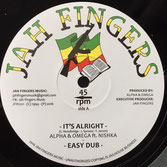"ALPHA & OMEGA ft NISHKA It's Alright (12"") Jah Fingers"