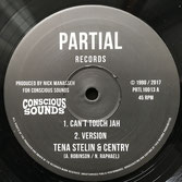 "TENA STELIN  Can't Touch Jah (Partial 10"")"
