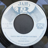 "FRANKIE JONES  Natty Dread Locks Control (7"")"