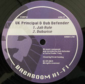 "UK PRINCIPAL, RAMON JUDAH  Jah Rule / Babylon Judgement  Label: Babylon (12"")"